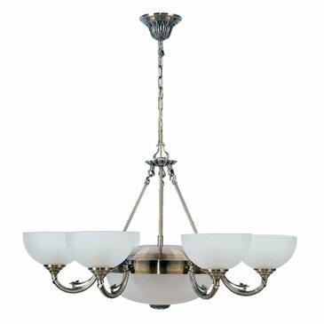 Подвесная люстра MW-Light Олимп 318011408.
