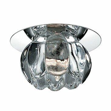 Точечный встраиваемый светильник Novotech Crystal 369605.