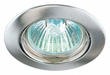 Точечный встраиваемый светильник Novotech Crown 369103.