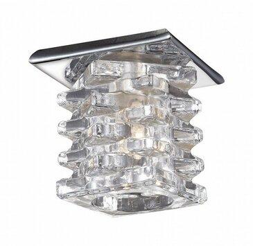 Точечный встраиваемый светильник Novotech Crystal 369375.
