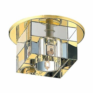 Точечный встраиваемый светильник Novotech Cubic 369382.