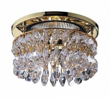 Точечный встраиваемый светильник Novotech Flame2 369335.