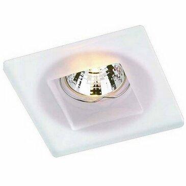Точечный встраиваемый светильник Novotech Glass 369212.