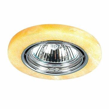 Точечный встраиваемый светильник Novotech Stone 369280.