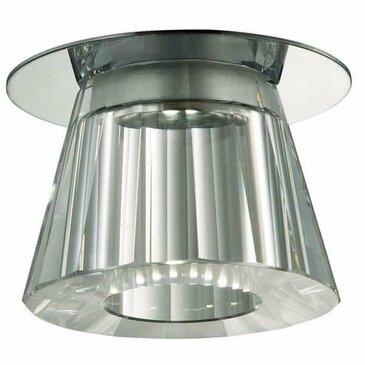 Точечный встраиваемый светильник Novotech Glitz 357044.
