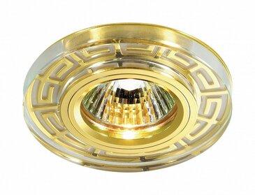 Точечный встраиваемый светильник Novotech Maze 369583.
