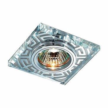 Точечный встраиваемый светильник Novotech Maze 369586.